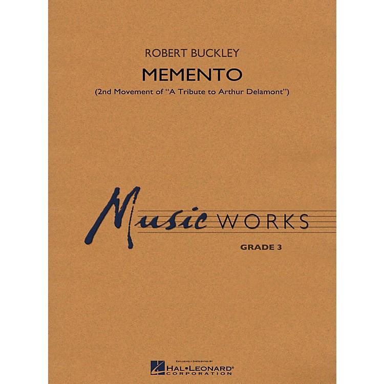 Hal LeonardMemento (2nd Mvt Of  A Tribute To Arthur Delamont) Concert Band Level 3
