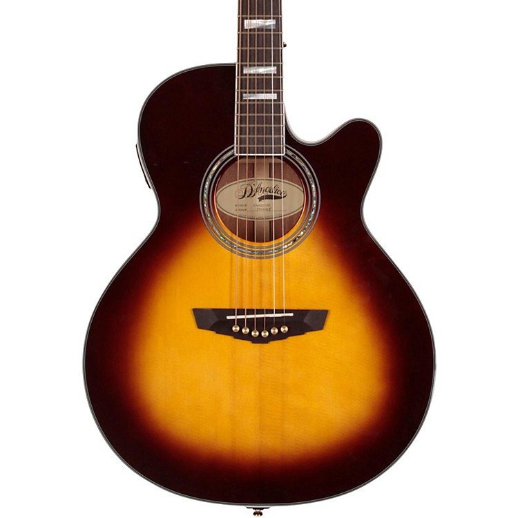 D'AngelicoMercer Grand Auditorium Cutaway Acoustic-Electric GuitarVintage Sunburst