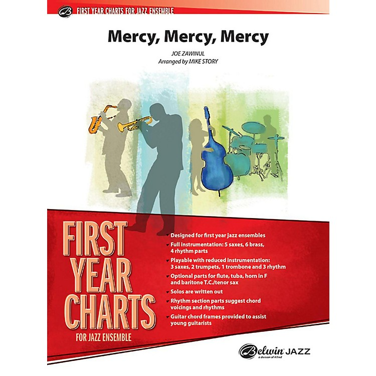 Alfred Mercy, Mercy, Mercy Jazz Band Grade 1 Set