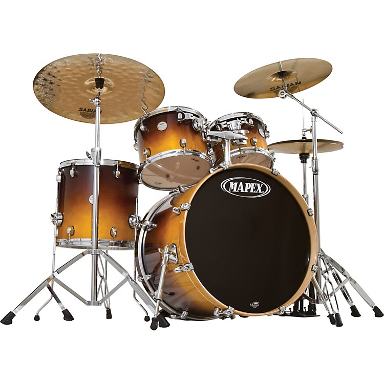 Mapex Meridian Birch 5-Piece SRO Shell Pack