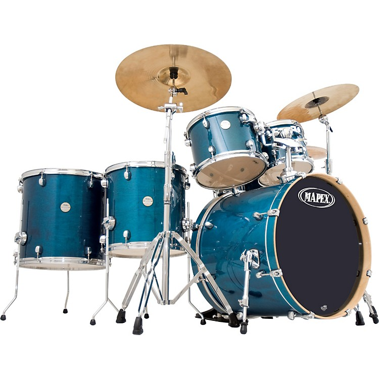 Mapex Meridian Birch 6-Piece Studioease Shell Pack Transparent Cherry