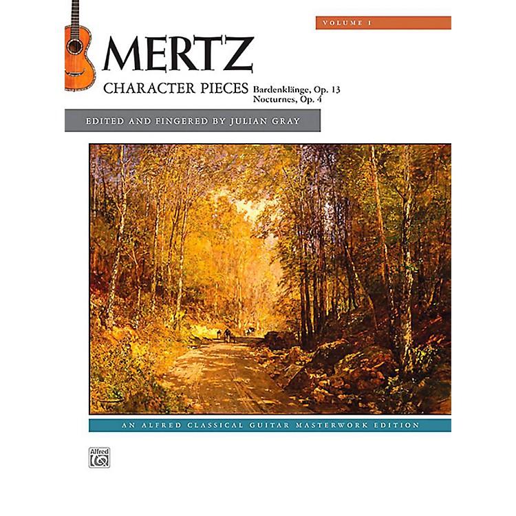 AlfredMertz, Volume 1: Character Pieces - Book Intermediate