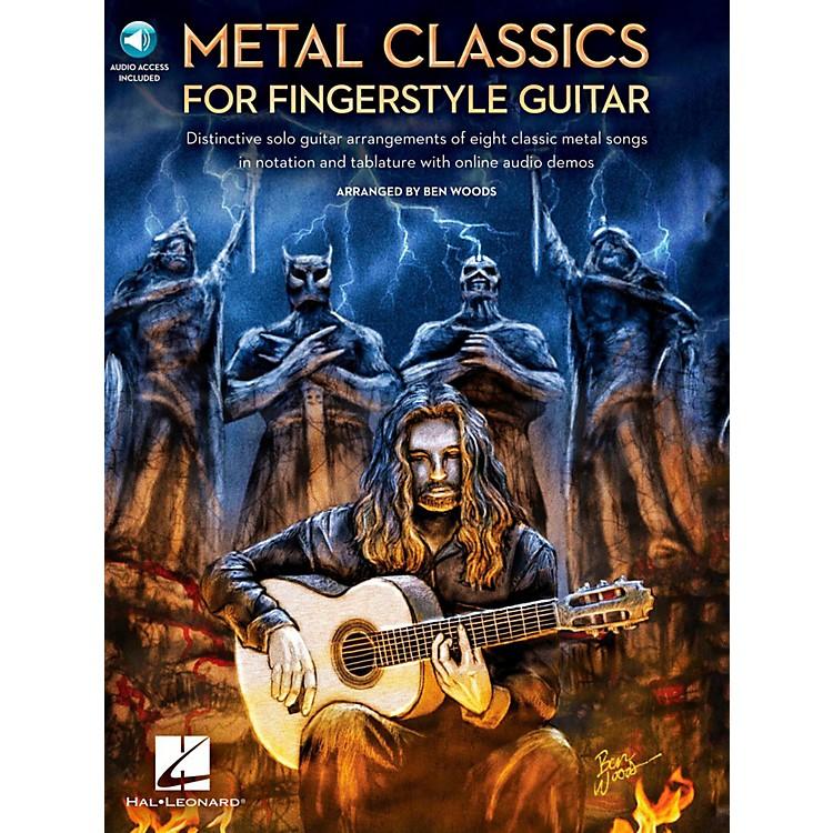 Hal LeonardMetal Classics For Fingerstyle Guitar (Book/Online Audio)