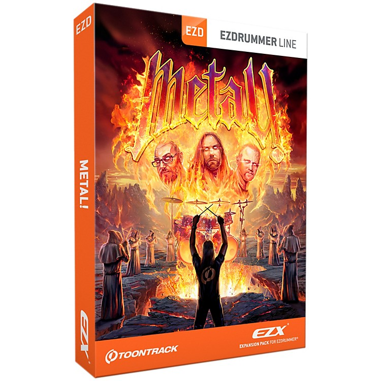 Toontrack Metal! EZX Software Download