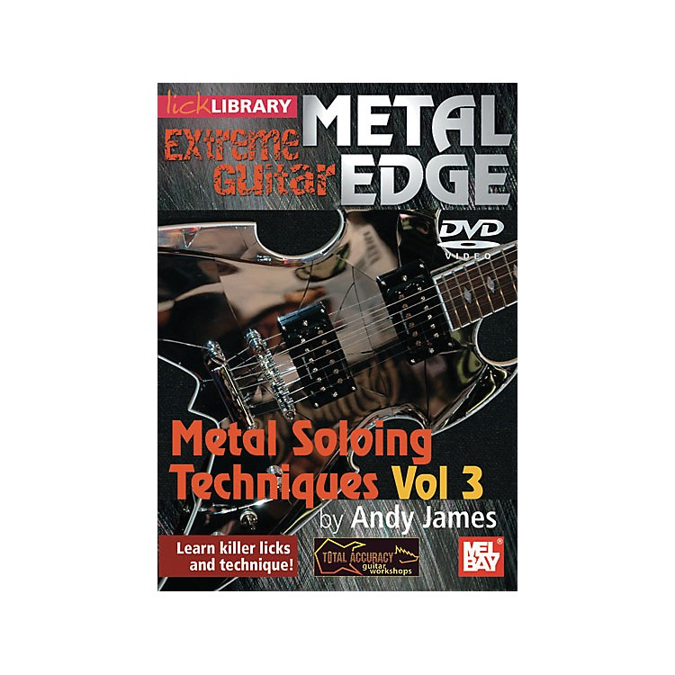 Hal Leonard Metal Edge: Metal Soloing Techniques Vol. 3 DVD Week 6