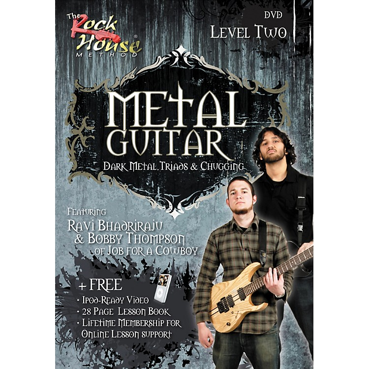 Rock HouseMetal Guitar- Dark Metal, Triads & Chugging Level 2, Featuring Ravi Bhadriraju and Bobby Thompson (DVD)