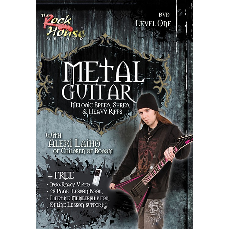 Rock HouseMetal Guitar, Melodic Speed, Shred & Heavy Riffs Level 1 with Alexi Laiho of Children of Bodom DVD