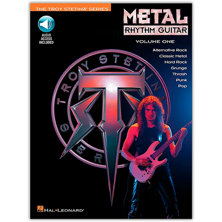 Hal Leonard Metal Rhythm Guitar Volume 1 (Book/CD)