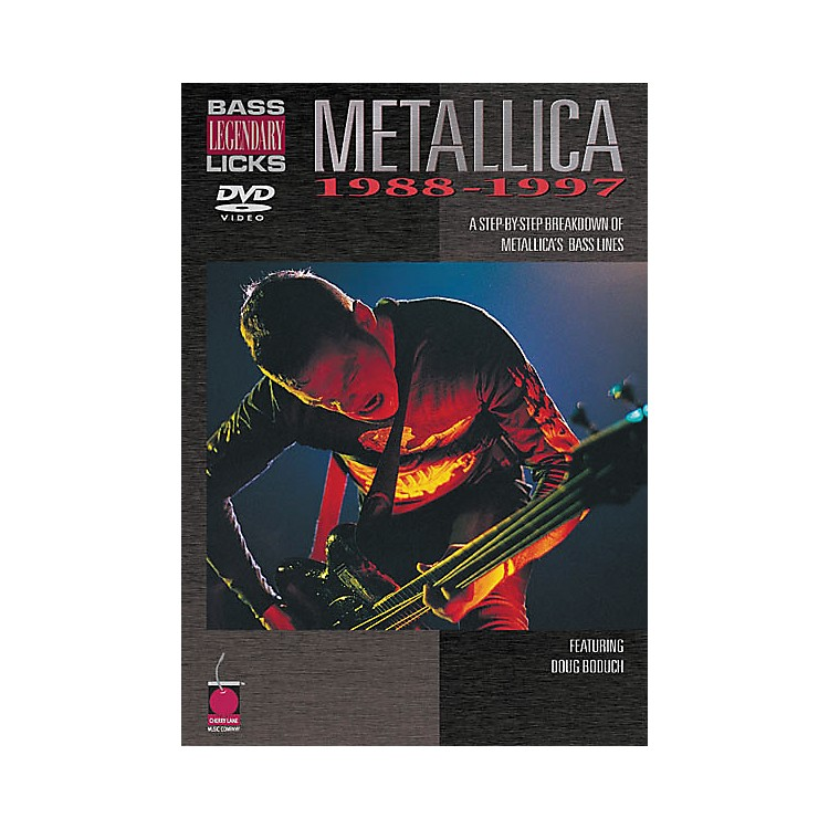 Cherry Lane Metallica - Bass Legendary Licks 1988-1997 (DVD)