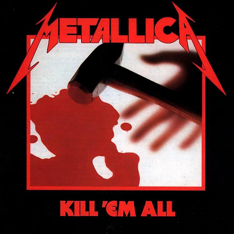 WEAMetallica - Kill 'Em All Vinyl LP (180 Gram Vinyl)
