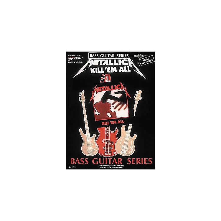 Cherry LaneMetallica - Kill 'em All Bass Guitar Series Tab Songbook