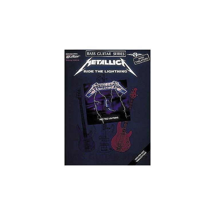 Hal LeonardMetallica - Ride the Lightning Bass Tab Book