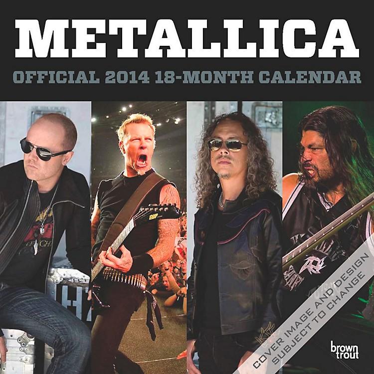 Browntrout PublishingMetallica 2014 Calendar Square 12x12