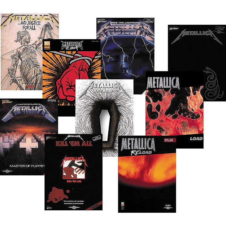 Cherry Lane Metallica Complete Guitar Tab Library