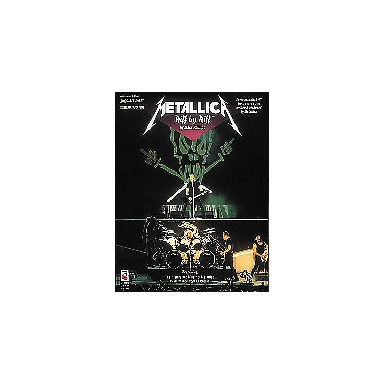 Hal LeonardMetallica Riff By Riff Guitar Tab Songbook