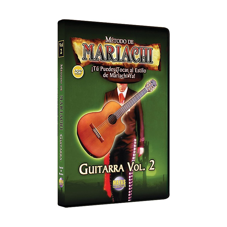 Mel Bay Metodo De Mariachi Guitarra DVD, Volume 2 - Spanish Only