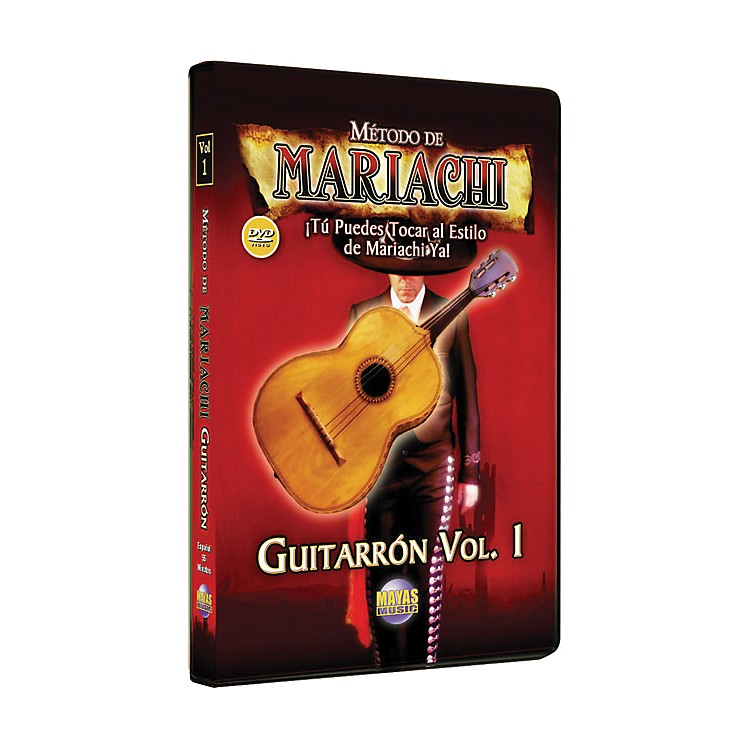 Mel Bay Metodo De Mariachi Guitarron DVD, Volume 1 - Spanish Only