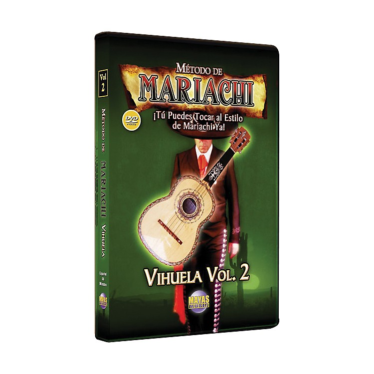 Mel BayMetodo De Mariachi Vihuela DVD, Volume 2 - Spanish Only