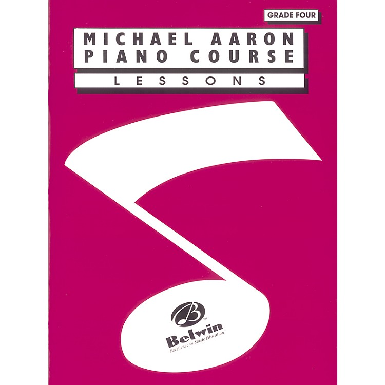 Alfred Michael Aaron Piano Course Lessons Grade 4