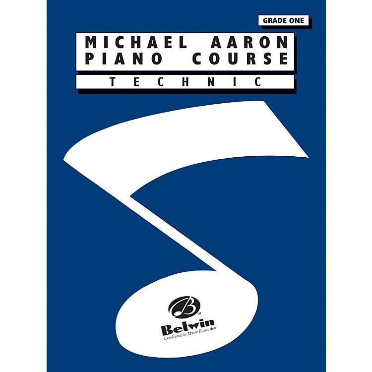 AlfredMichael Aaron Piano Course Technic Grade 1