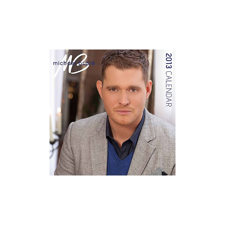 Browntrout Publishing Michael Bublé 2013 Square 12X12 Wall Calendar