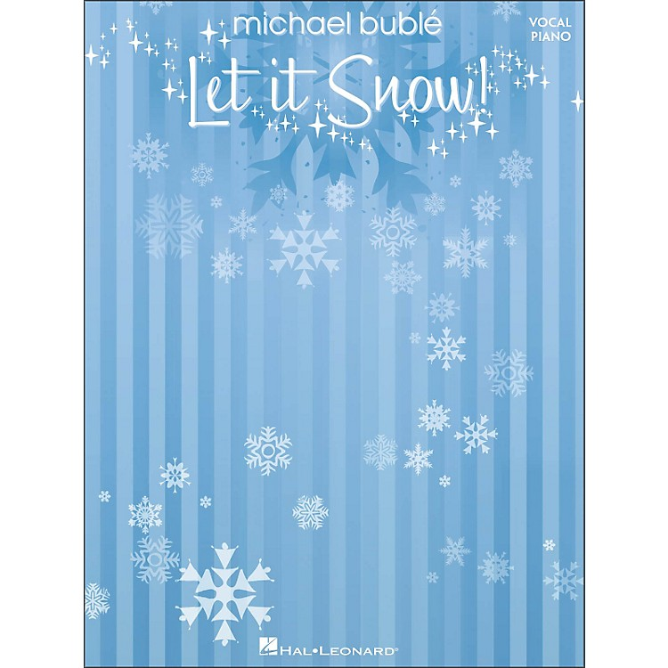 Hal Leonard Michael Buble - Let It Snow (Vocal/Piano)