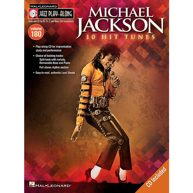 Hal LeonardMichael Jackson - Jazz Play-Along Volume 180 Book/CD