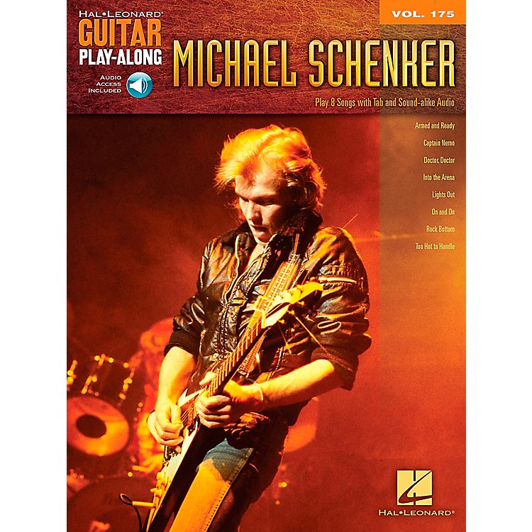 Hal LeonardMichael Schenker - Guitar Play-Along Vol. 175 Book/CD