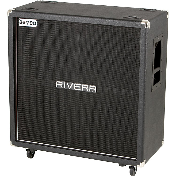 Rivera Mick Thomson Signature Series K412-MT 400W 4x12 Guitar Extension Cabinet Black Straight