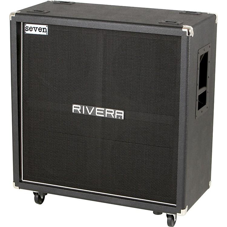 RiveraMick Thomson Signature Series K412-MT 400W 4x12 Guitar Extension CabinetBlackStraight