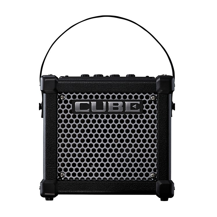 Roland Micro Cube GX 3W 1x5 Battery Powered Guitar Combo Amp Black