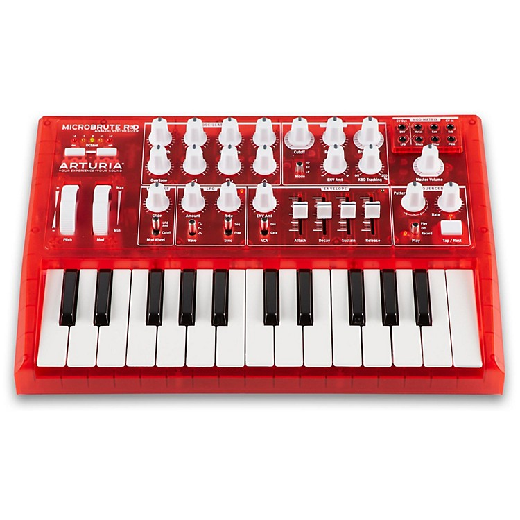 ArturiaMicroBrute Analog Synthesizer RED EditionRed