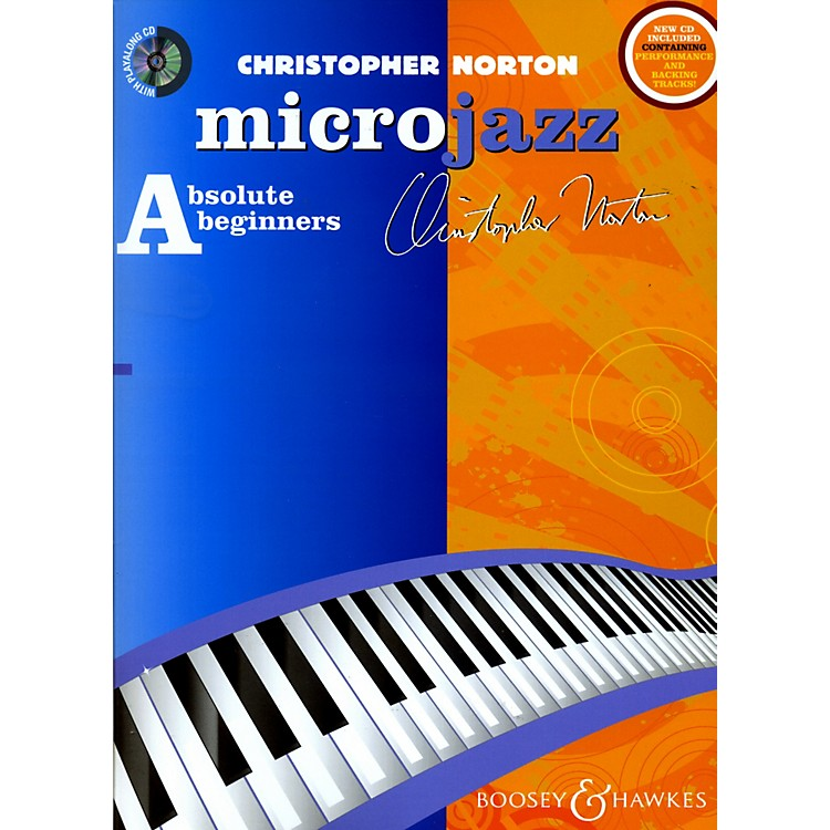 Hal LeonardMicrojazz For Absolute Beginners New Edition For Piano (Book/CD)