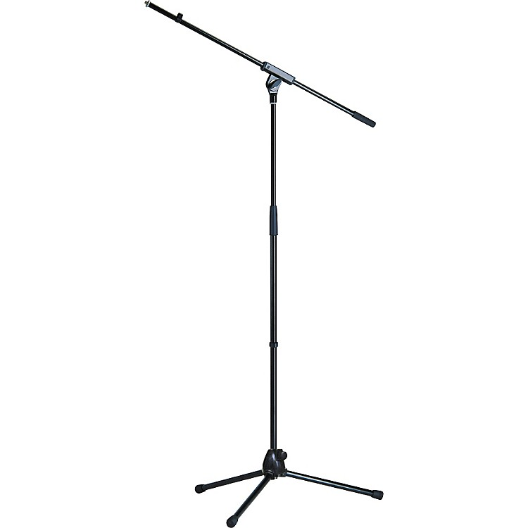 K&M Microphone Stand with Boom Arm