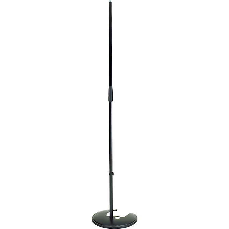 K&M Microphone Stand with Stackable Round Base