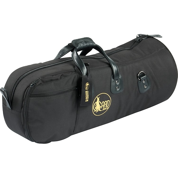 Gard Mid-Suspension Alto/Tenor Horn Gig Bag 45-MLK Black Ultra Leather