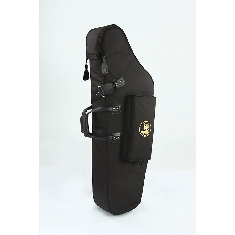 GardMid-Suspension EM Low A Baritone Saxophone Gig Bag106-MSK BlackSynthetic w/ Leather Trim