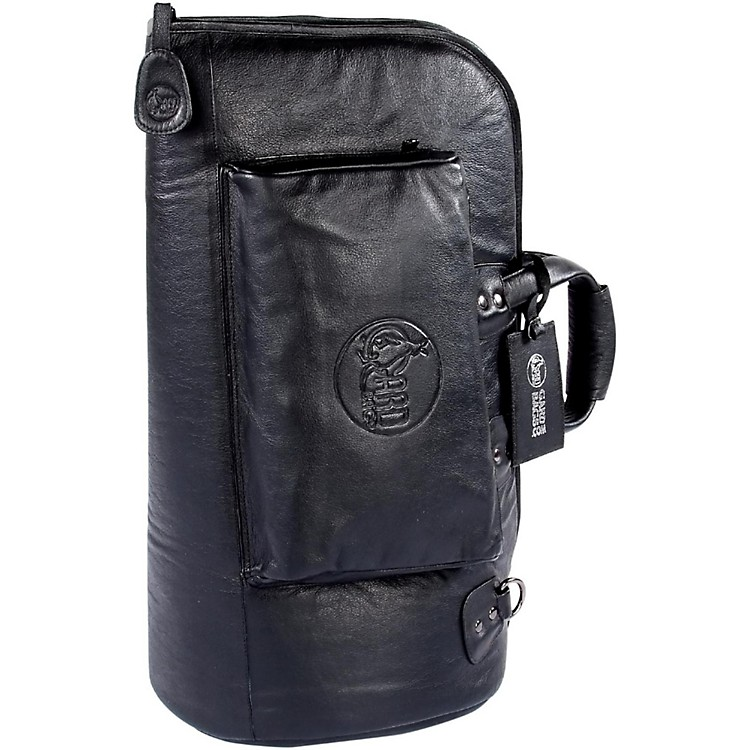Gard Mid-Suspension Flugelhorn Gig Bag 2-MLK Black Ultra Leather