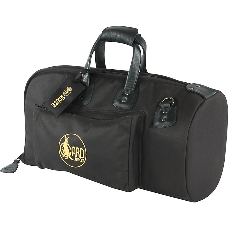 Gard Mid-Suspension Flugelhorn Gig Bag 2-MSK Black Synthetic w/ Leather Trim