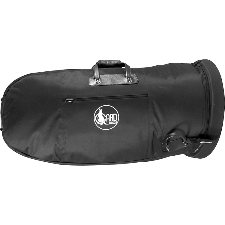 Gard Mid-Suspension Medium Tuba Gig Bag 62-MLK Black Ultra Leather