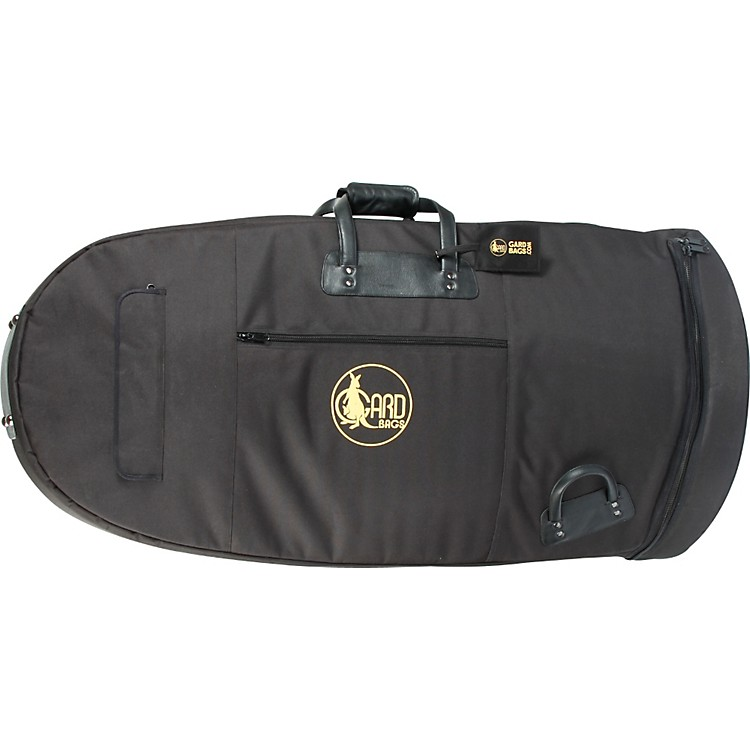 GardMid-Suspension Medium Tuba Gig Bag62-MSK BlackSynthetic w/ Leather Trim