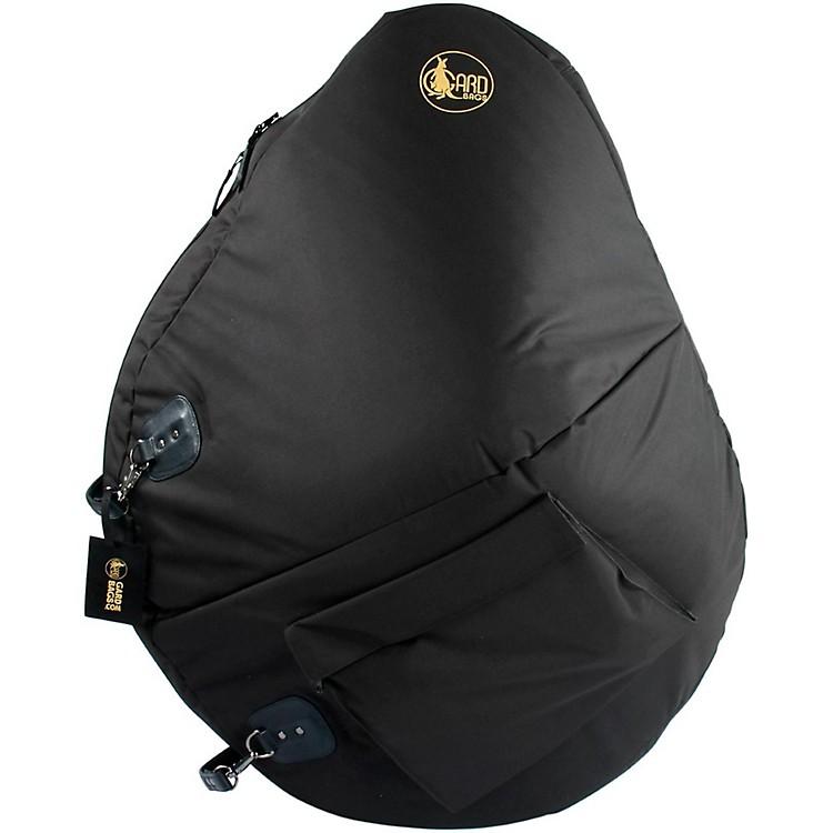 GardMid-Suspension Sousaphone Gig Bag71-MSK BlackSynthetic w/ Leather Trim
