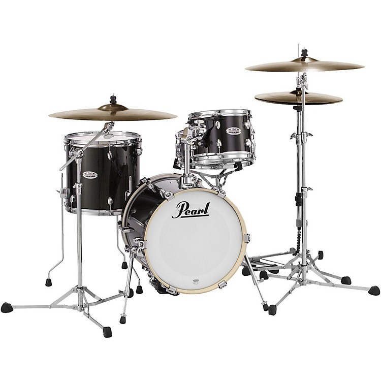 Pearl Midtown Series 4-Piece Shell Pack Black Gold Sparkle