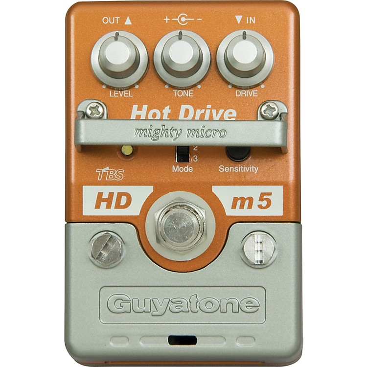 GuyatoneMighty Micro HDm5 Hot Drive Guitar Effects Pedal