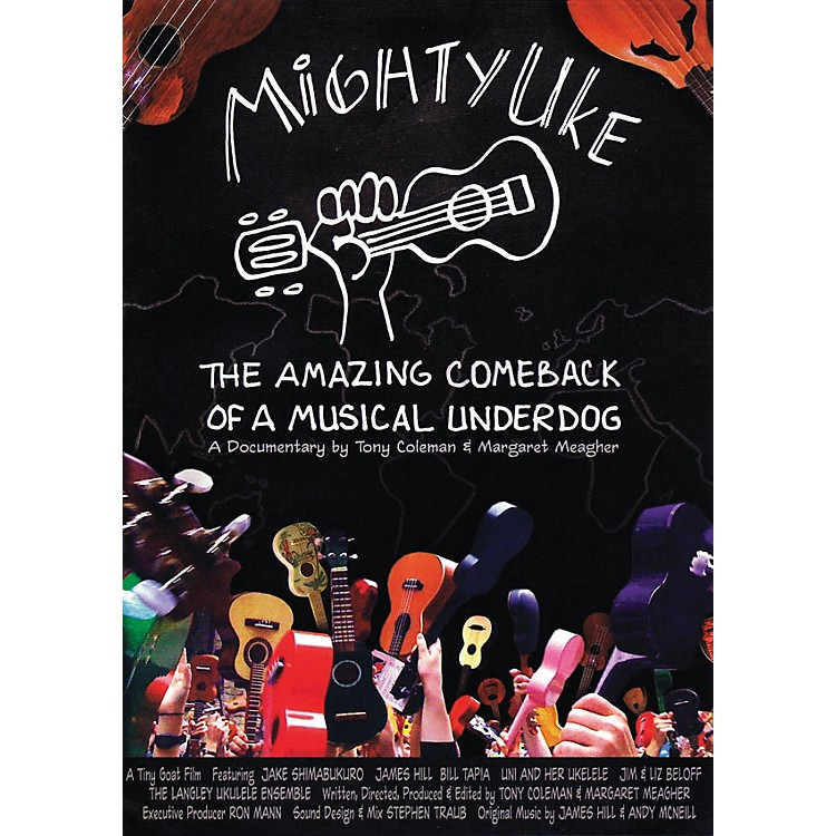 Hal Leonard Mighty Uke - The Amazing Comeback Of A Musical Underdog DVD