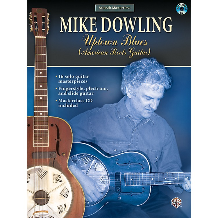 AlfredMike Dowling - Uptown Blues (American Roots Guitar) (Book/CD)