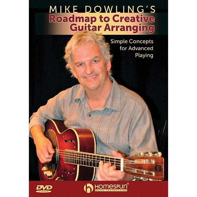 HomespunMike Dowling's Roadmap To Creative Guitar Playing DVD