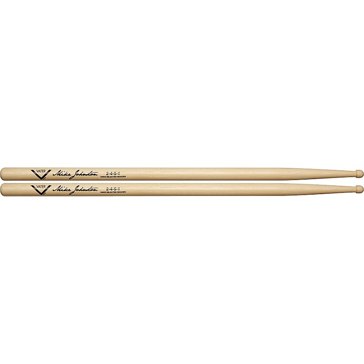 Vater Mike Johnston 2451 Hickory Drumsticks