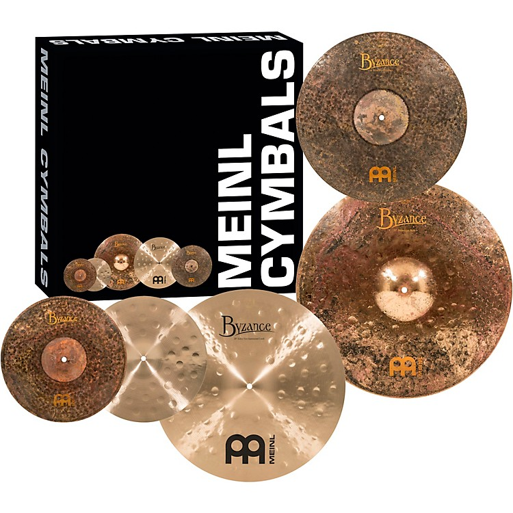 MeinlMike Johnston Byzance Cymbal Set with Free 18