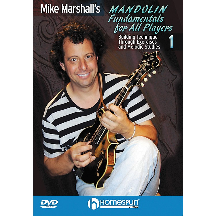 HomespunMike Marshall's Mandolin Fundamentals For All Players DVD 1